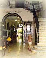 Main entrance to Hotel Colon