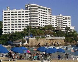 Hotel Caleta from Caleta Beach