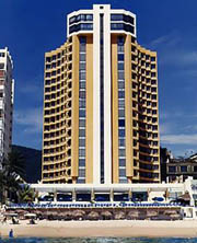 Copacabana Hotel from beach