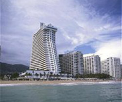 Crowne Plaza from Acapulco Bay