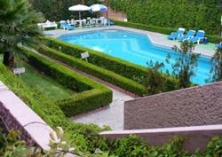 Pool at Misión Aguascalientes