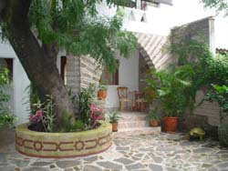 Patio at Casablanca in Ajijic