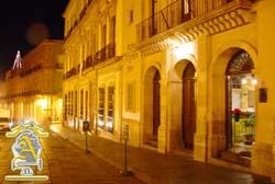 Colonial Facade of Argento Inn