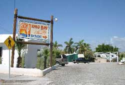 Entrance at Kino Bay RV Park