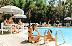 Poolside at the Sicomoro Hotel