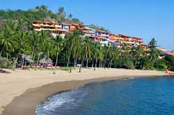 Beach at Costa Careyes Resort
