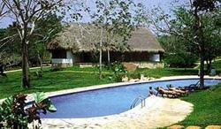 Pool at the Mayaland Hotel