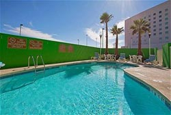 Pool at Holiday Inn Express