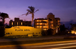 Entrance to Playa Azul
