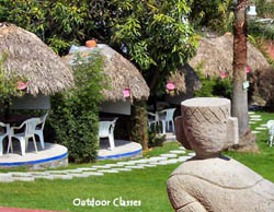 Outdoor Classes at Chac-Mool