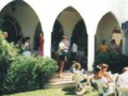 Open Air Class at the School