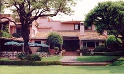 Las Mañanitas-view from garden