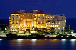 Evening Shot of Avalon Cancun