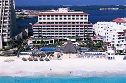 Beach Palace Resort and beach.