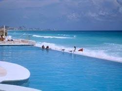 Pool & Beach - Bel Air Cancun