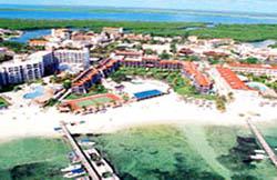 Aerial view Ocean Spa Hotel