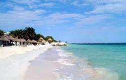 Beach at Celuisma Maya Caribe