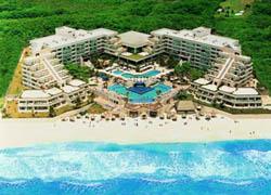 Aerial view Grand Oasis Playa
