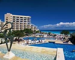 Pool at Cancun Palace Resort