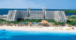 Aerial view-Riu Caribe Cancun