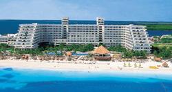 Aerial view-Riu Caribe Cancun