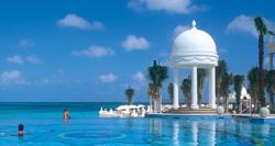 Infinity Pool at Riu Palace