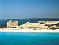 Sheraton Cancun from Caribbean