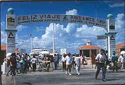 Ferry Terminal in Cozumel