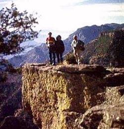 On Canyon's Rim at Divisadero
