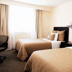Bedroom at Fiesta Inn Durango