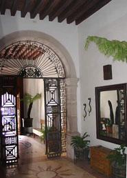 Entrance to Hostal de la Monja