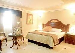Bedroom at Hotel Casino Plaza