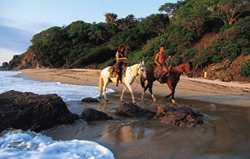 Around San Pancho on Horseback