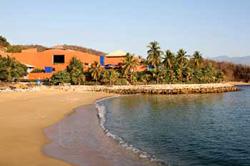 Beach at Brisas Huatulco