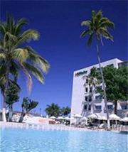 Pool at the Holiday Inn Ixtapa