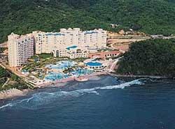 Melia Azul Ixtapa from ocean.