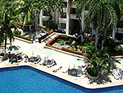 Pool area at Ixtapa Palace