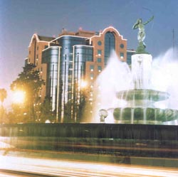 Marquis Reforma-Diana Fountain