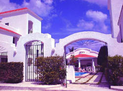 Front Gate at Casa Martillo