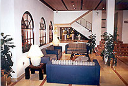 Lobby at Hotel Catedral