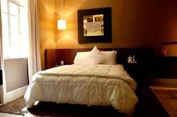 Bedroom at Hippodrome Hotel