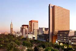 Skyline Around Hilton Reforma