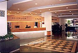 Lobby at Hotel Lepanto