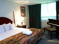 Bedroom at Pedregal Palace