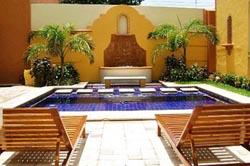 Pool at Casa de las Columnas
