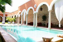 Pool at Hotel Hacienda Merida