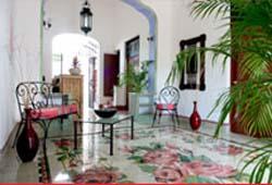 Hallway @ Hostal del Peregrino