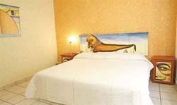 Bedroom at Hotel Galeria