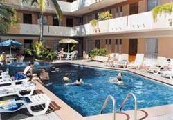 Pool at Azteca Inn in Mazatlan