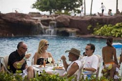 Lunch by Pool @ El Cid El Moro